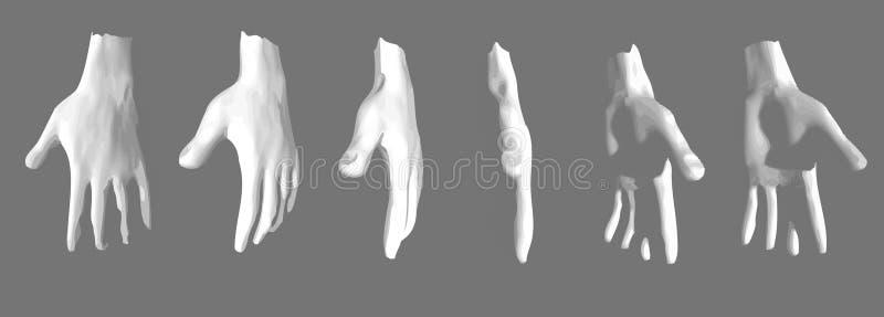 illustrazione delle mani umane royalty illustrazione gratis