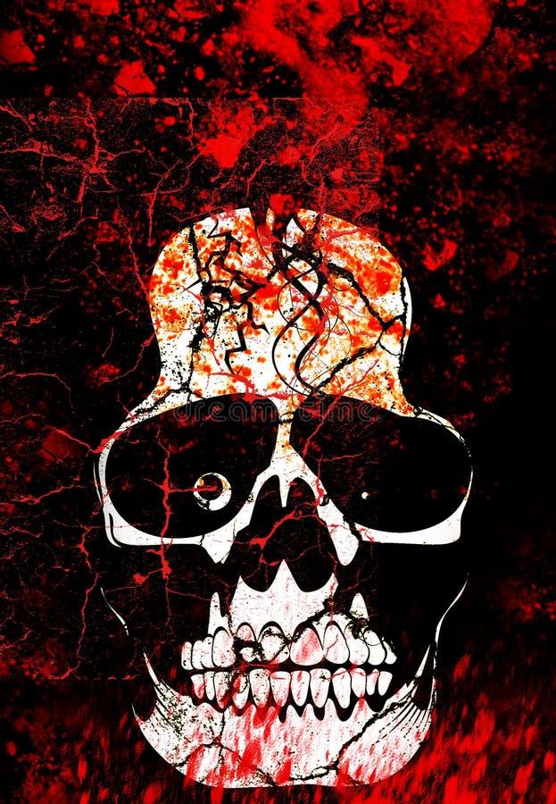 Illustrazione di anima del cranio royalty illustrazione gratis