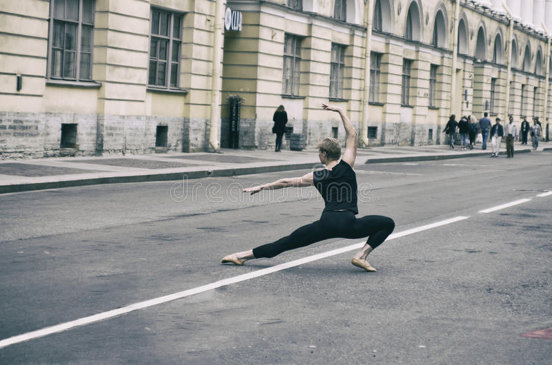 Illustrazione di balletto dancer immagine stock libera da diritti