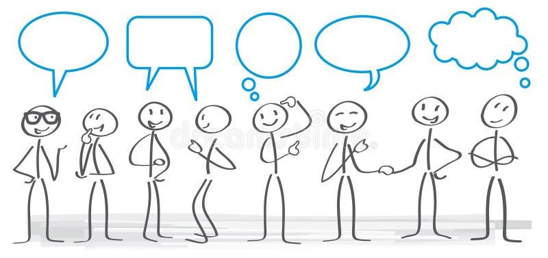 Illustrazione di concetto di comunicazione royalty illustrazione gratis