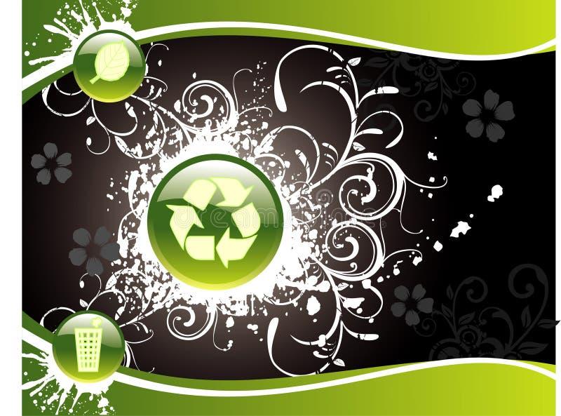 Illustrazione di ecologia di vettore illustrazione di stock