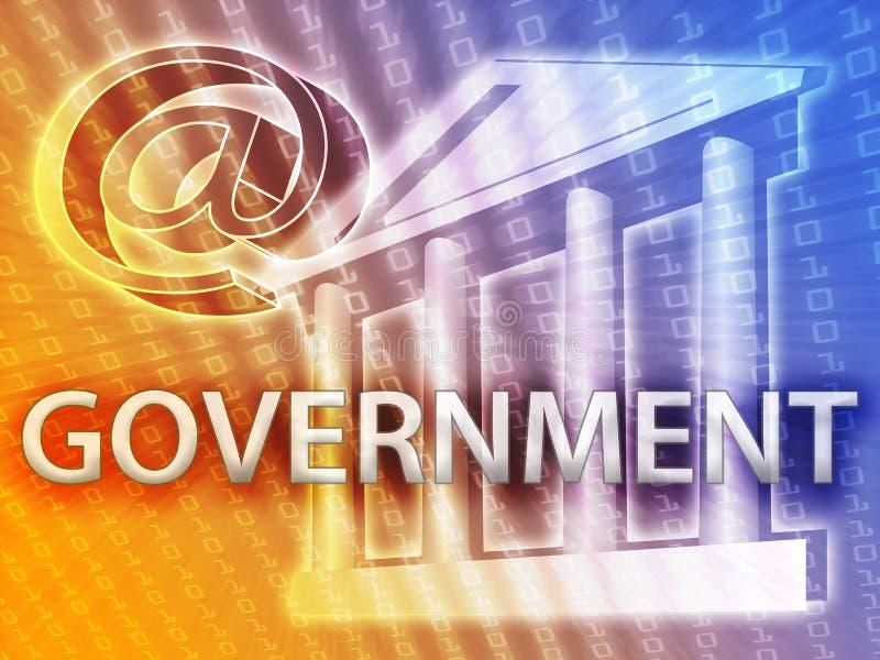 Illustrazione di governo illustrazione di stock