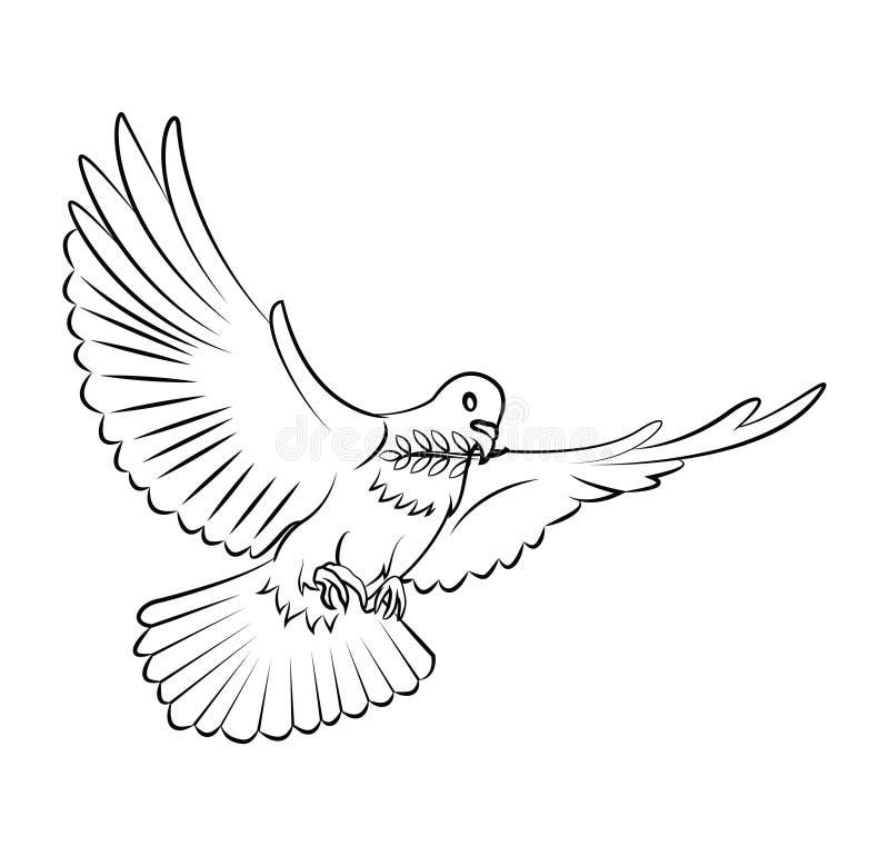 Illustrazione di immagine di pace illustrazione di stock
