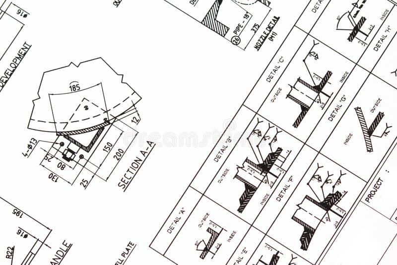 Illustrazione di ingegneria. fotografia stock