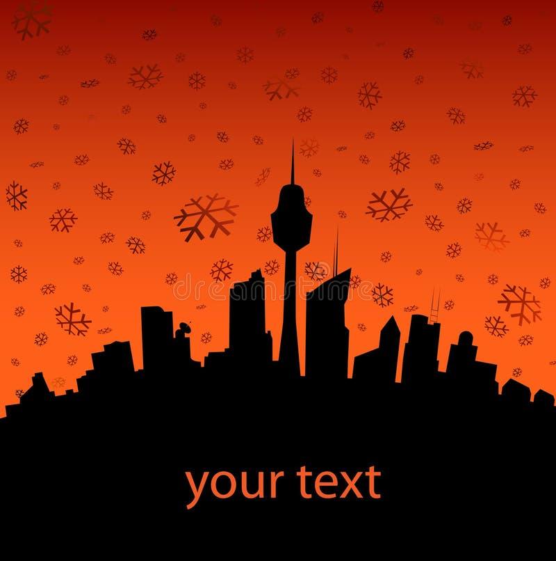 Download Illustrazione di inverno illustrazione vettoriale. Illustrazione di natale - 7317438