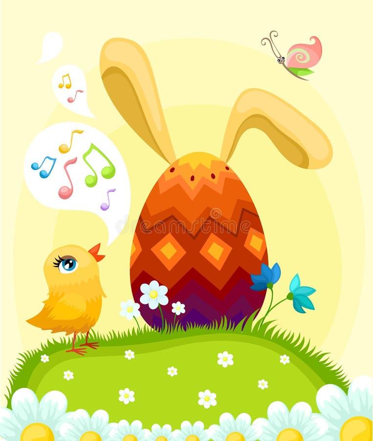 Illustrazione di Pasqua royalty illustrazione gratis