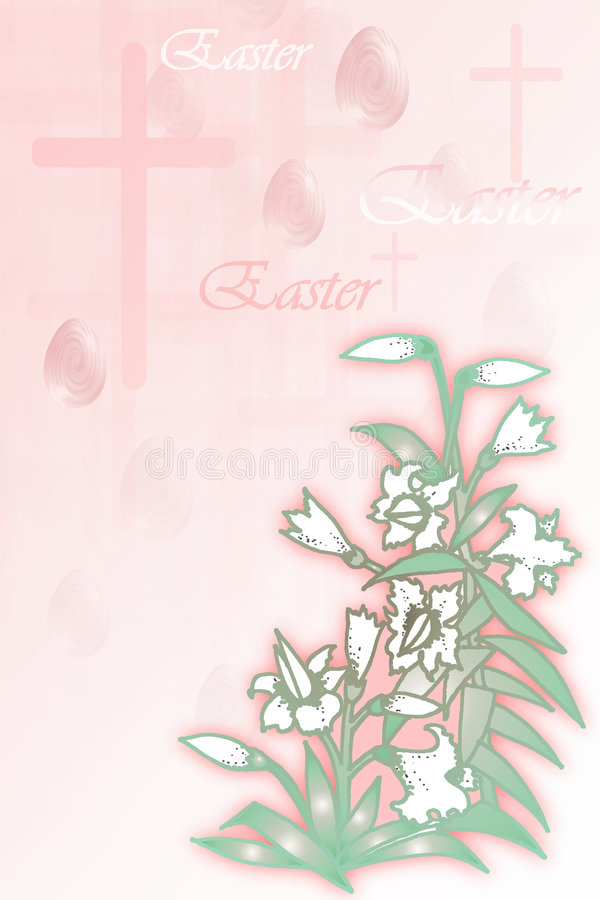 Illustrazione Di Riserva Del Concetto Di Pasqua Fotografie Stock