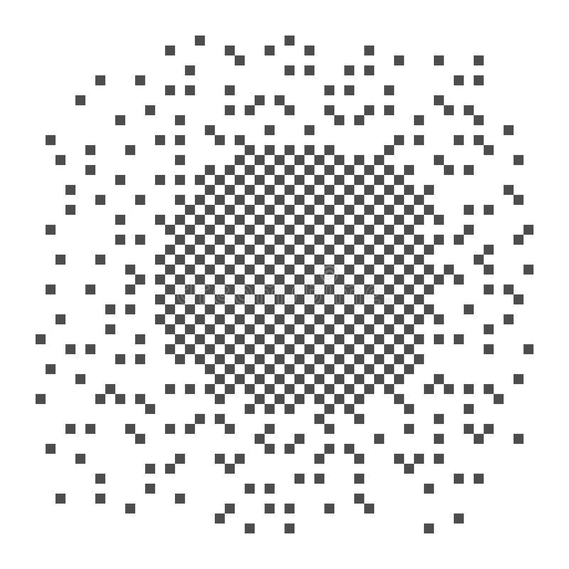 Illustrazione di scacchi del pixel L'elemento si dissolve in molti quadrati Oggetti di vettore isolati su fondo royalty illustrazione gratis