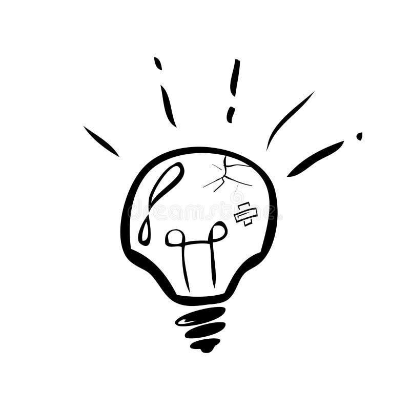 Illustrazione di scarabocchio affinch? modo difficile, complicato e duro ottengano idea royalty illustrazione gratis