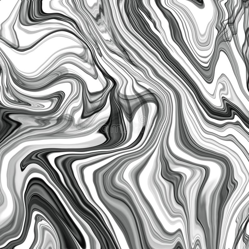 Illustrazione di stile creativo moderno con sfondo dell'arte dell'inchiostro da alcool Design grafico Modello artistico moderno T illustrazione di stock
