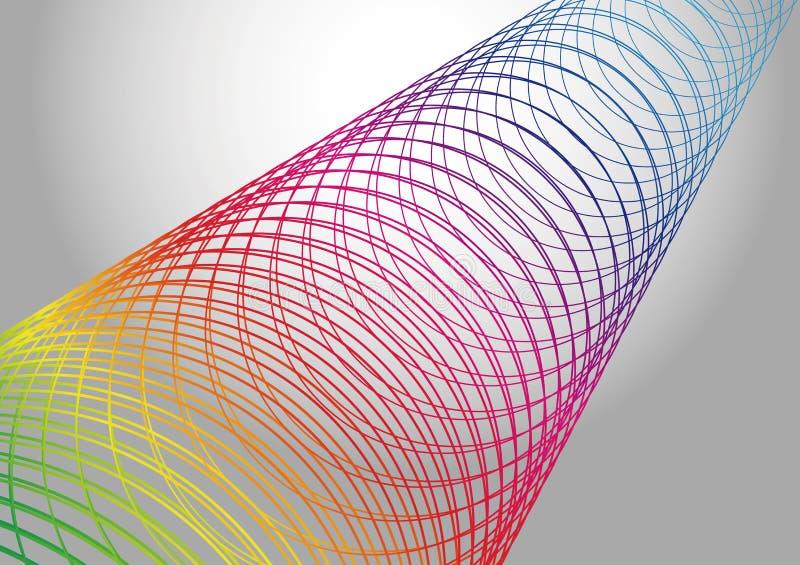 Illustrazione di tecnologia astratta illustrazione vettoriale
