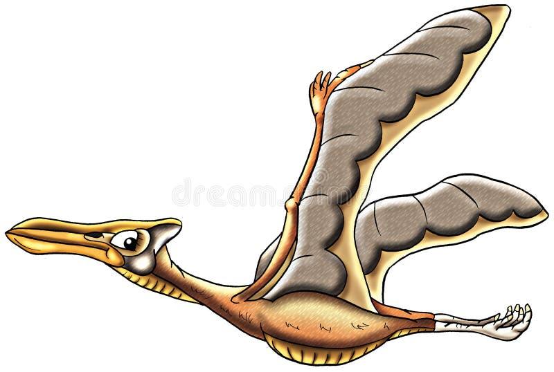Illustrazione di Teradactyl illustrazione vettoriale