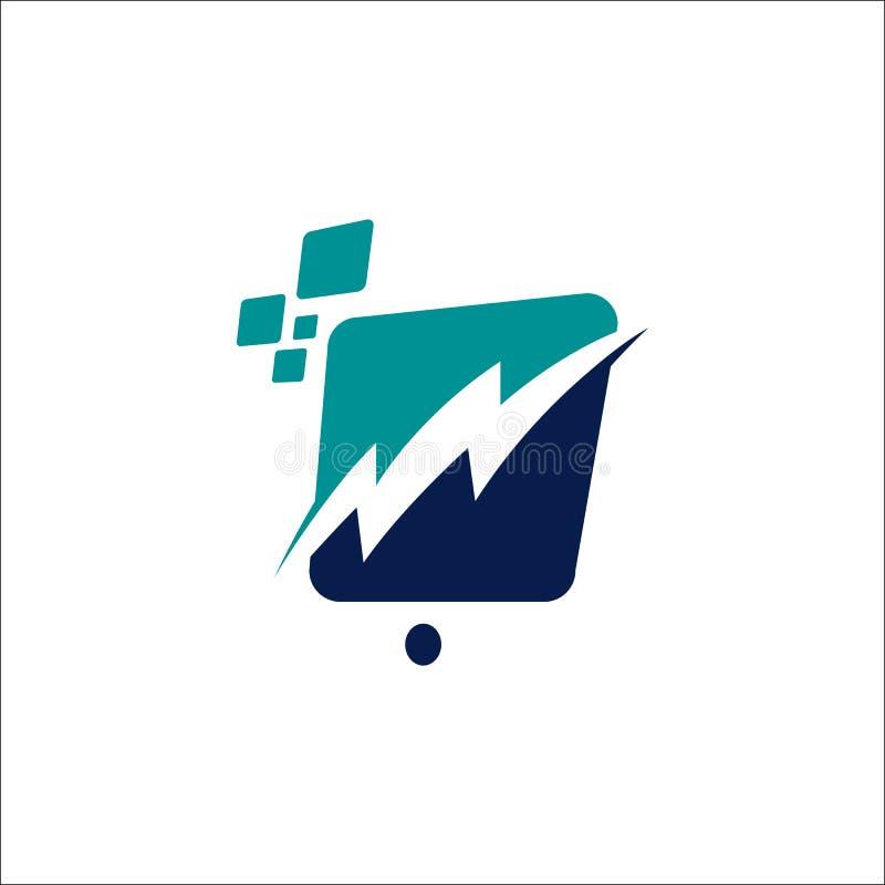 illustrazione di un elemento del logo vettoriale dell'icona del pixel royalty illustrazione gratis