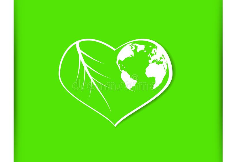 Illustrazione di vettore di concetto di Giornata mondiale dell'ambiente illustrazione vettoriale