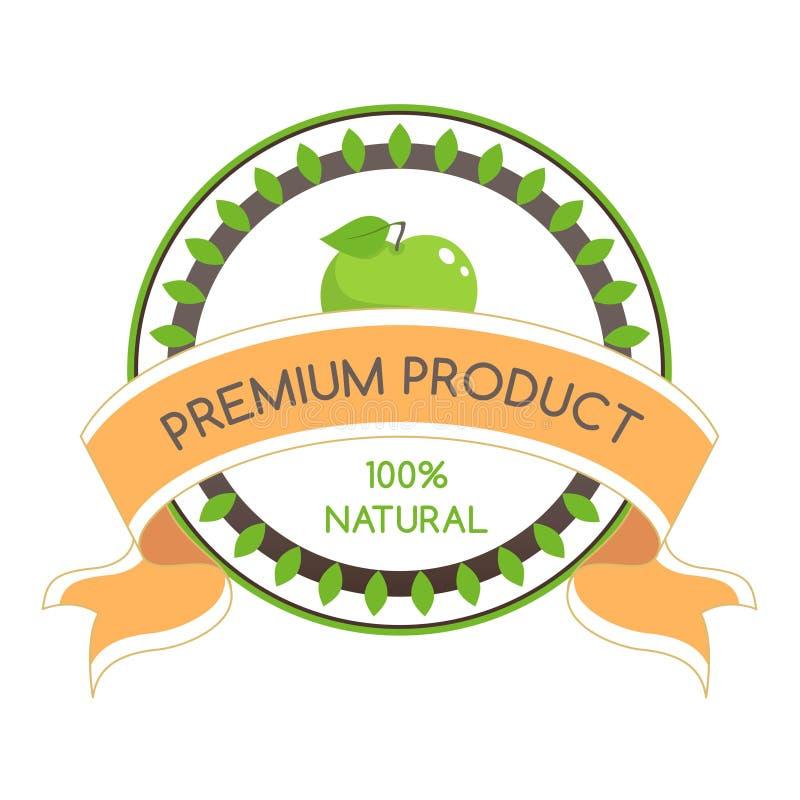 Illustrazione di vettore degli ingredienti organici naturali royalty illustrazione gratis