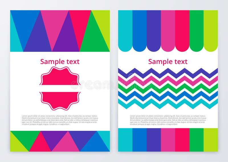 Download Illustrazione Di Vettore Degli Opuscoli Di Colore Illustrazione Vettoriale - Illustrazione di colorful, immagine: 56890786