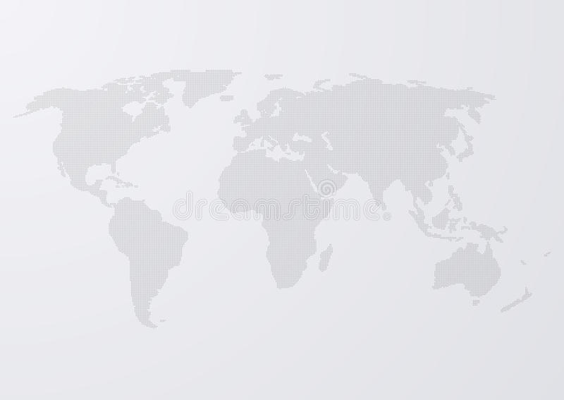 Download Illustrazione Di Vettore Dei Cerchi Di Una Mappa Di Mondo Illustrazione Vettoriale - Illustrazione di cerchio, futuristico: 56889582