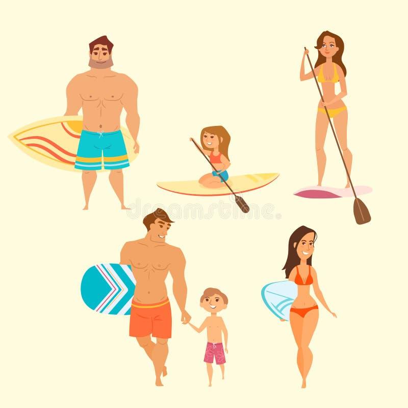 Illustrazione di vettore dei giovani royalty illustrazione gratis