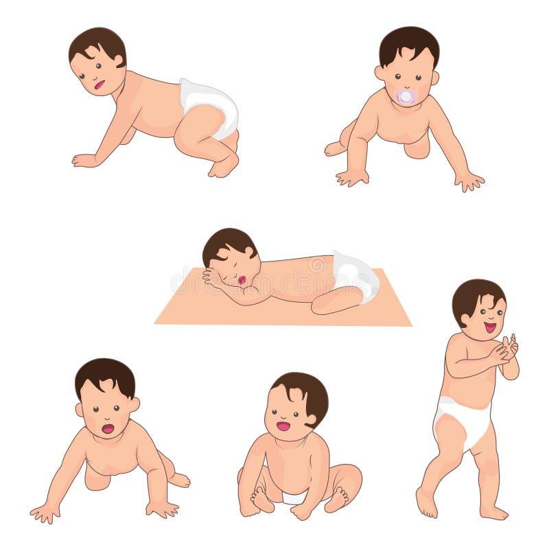 Illustrazione di vettore del bambino royalty illustrazione gratis