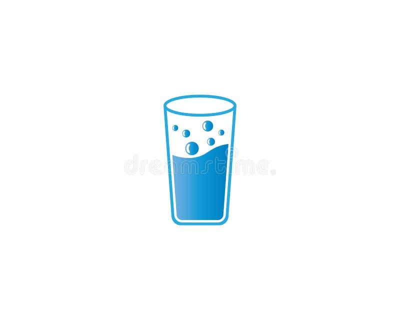 Illustrazione di vettore del bicchiere illustrazione vettoriale