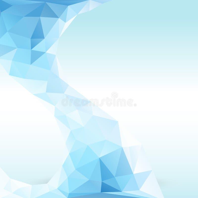 Illustrazione di vettore del ghiaccio di Cristal illustrazione vettoriale