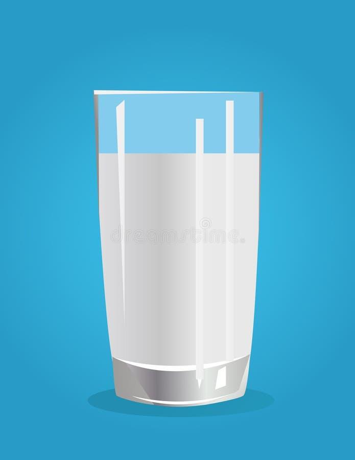illustrazione di vettore del latte illustrazione di stock