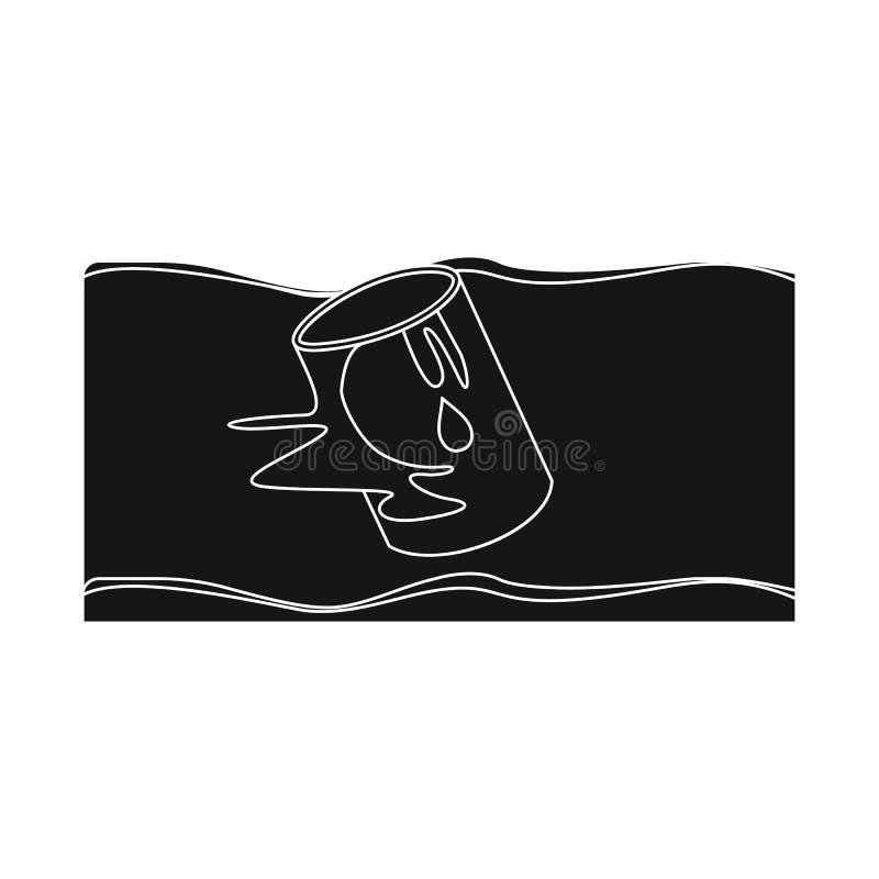 Illustrazione di vettore del logo di arresto e di calamità Raccolta dell'icona di vettore di disastro e di calamità per le azione royalty illustrazione gratis
