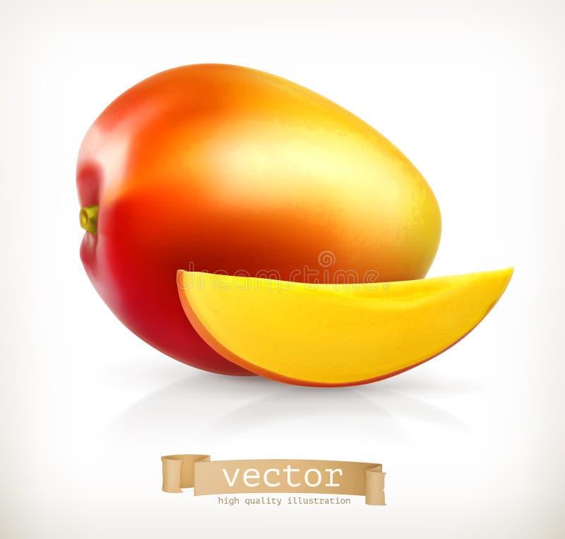 Illustrazione di vettore del mango illustrazione vettoriale