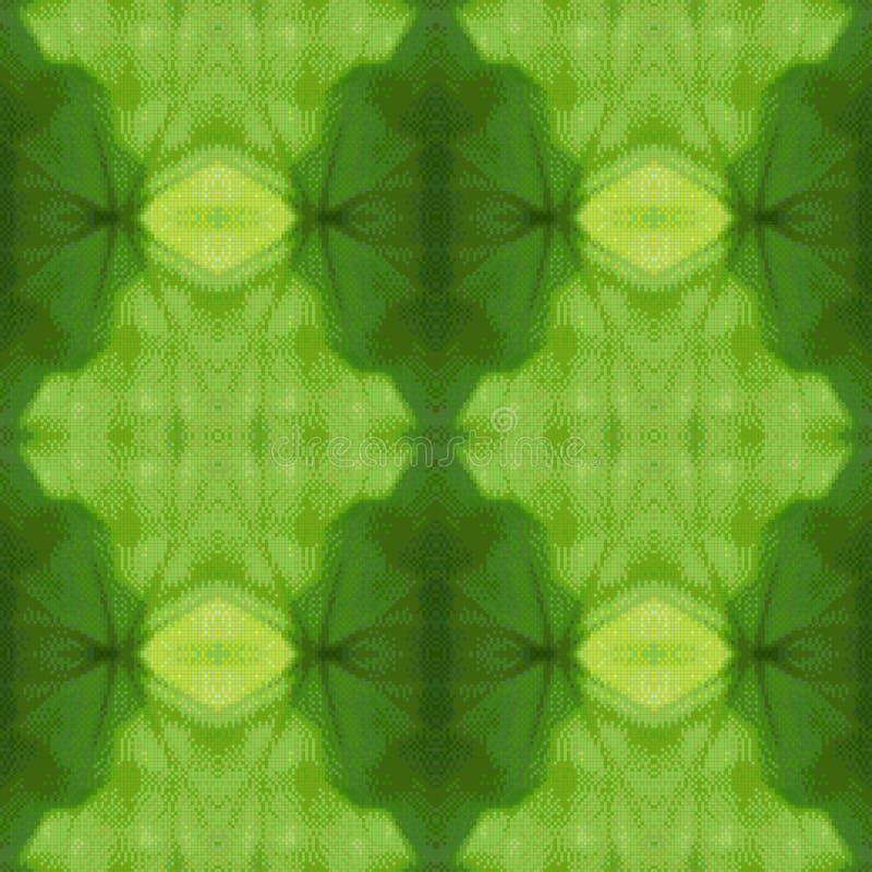 Illustrazione di vettore del modello di vetro verde illustrazione vettoriale