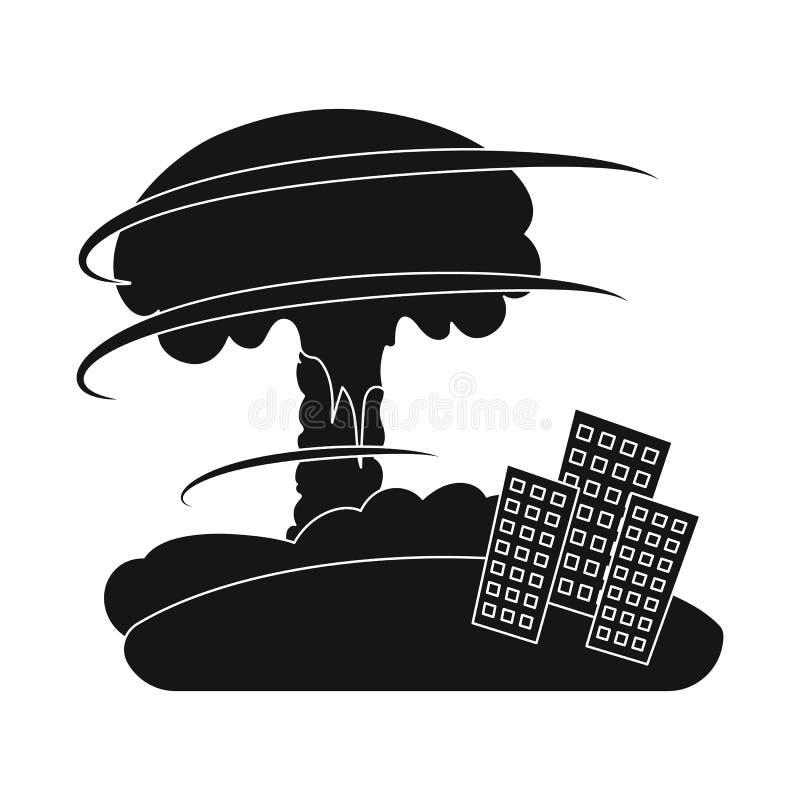 Illustrazione di vettore del simbolo di arresto e di calamità Raccolta del simbolo di riserva di disastro e di calamità per il we illustrazione di stock