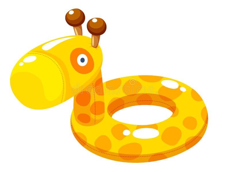 Illustrazione di vettore dell'anello di nuotata royalty illustrazione gratis