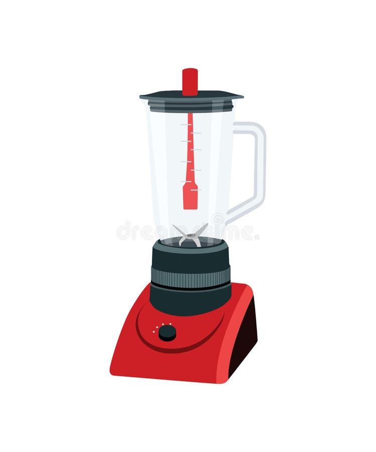 Illustrazione di vettore dell'elettrodomestico da cucina del miscelatore illustrazione vettoriale