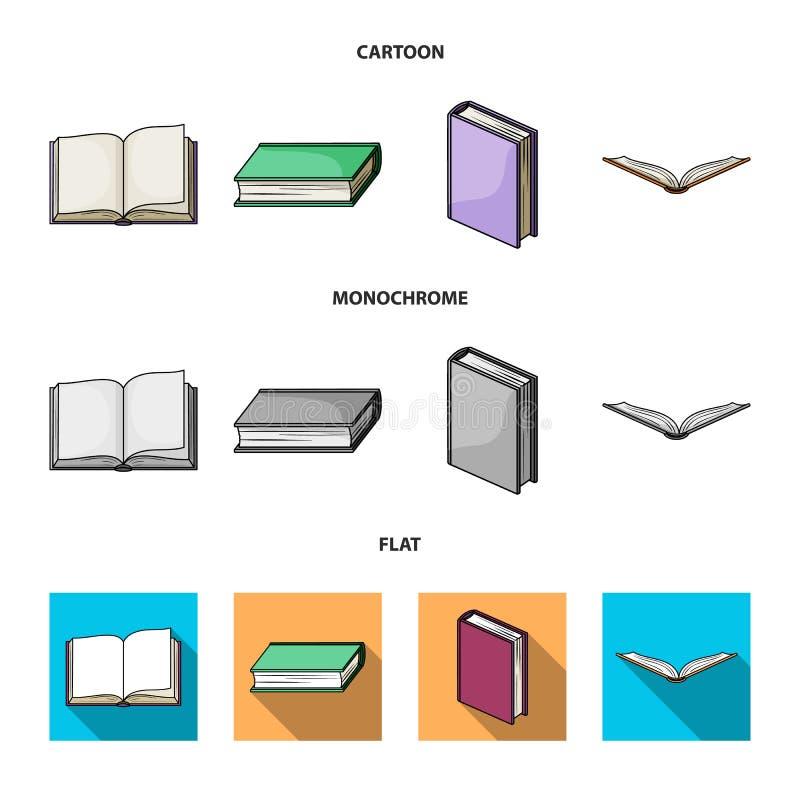 Illustrazione di vettore dell'icona del manuale e delle biblioteche Metta dell'icona di vettore della scuola e delle biblioteche  illustrazione di stock