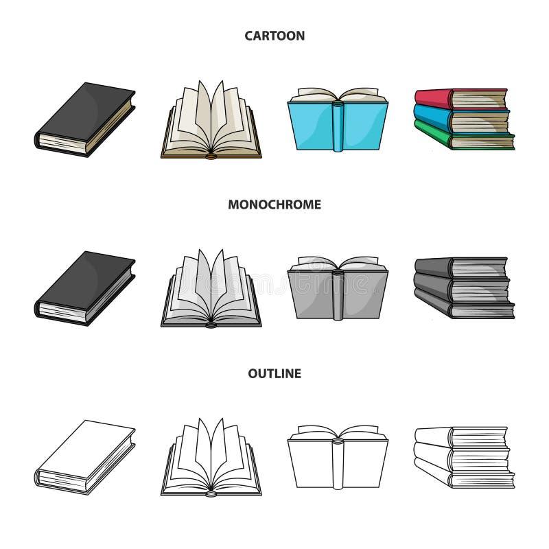 Illustrazione di vettore dell'icona del manuale e delle biblioteche Metta del simbolo di riserva della scuola e delle biblioteche illustrazione vettoriale