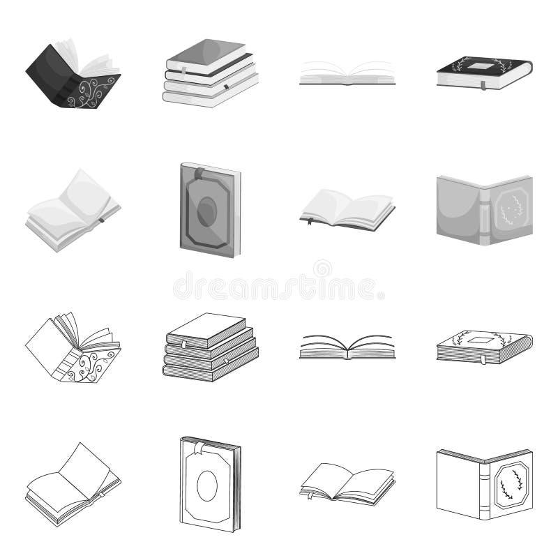 Illustrazione di vettore dell'icona della copertura e di addestramento Metta di addestramento e dell'icona di vettore della libre illustrazione di stock