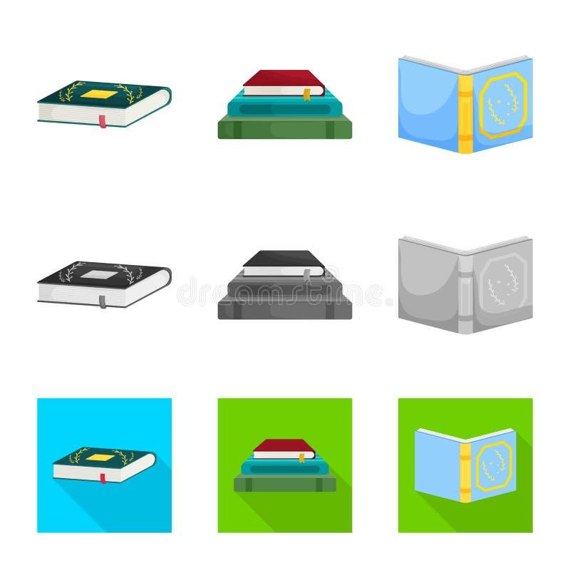 Illustrazione di vettore dell'icona della copertura e di addestramento Raccolta di addestramento e del simbolo di riserva della l illustrazione di stock