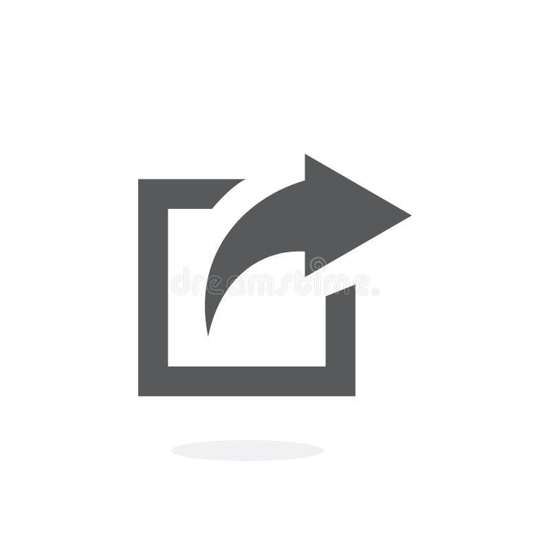 Illustrazione di vettore dell'icona della parte illustrazione vettoriale