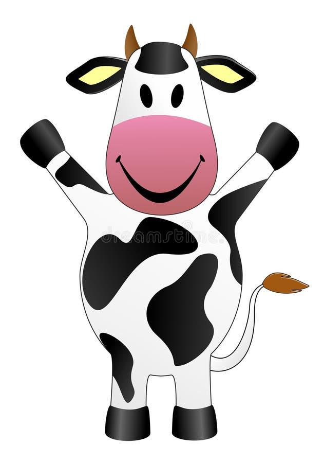 Illustrazione di vettore della mucca royalty illustrazione gratis