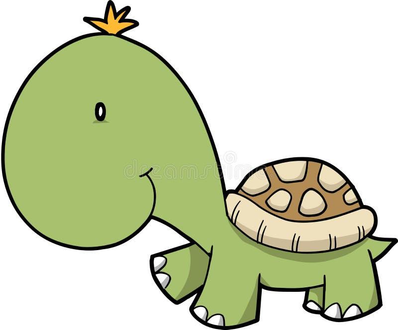 Illustrazione di vettore della tartaruga illustrazione di stock