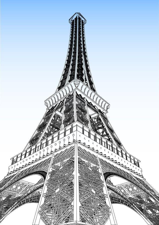Download Illustrazione Di Vettore Della Torre Eiffel Illustrazione Vettoriale - Illustrazione di europa, illustrazione: 30829533