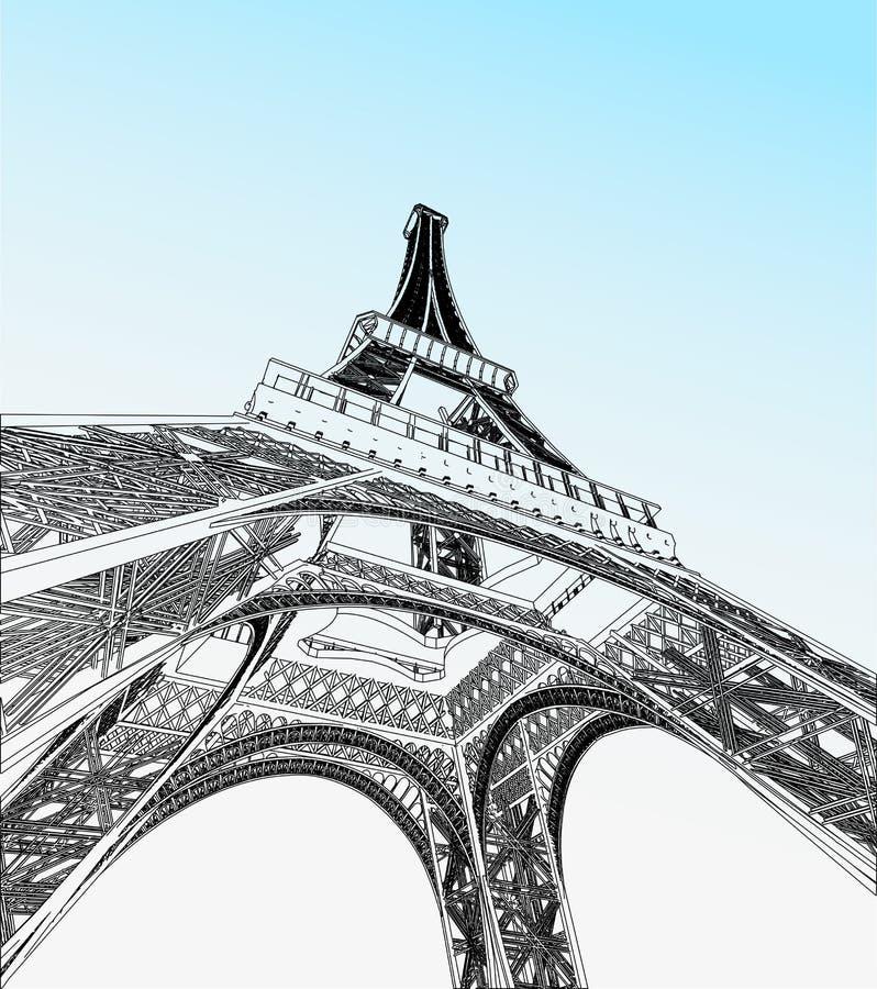 Download Illustrazione Di Vettore Della Torre Eiffel Illustrazione Vettoriale - Illustrazione di costruzione, architettura: 30829545