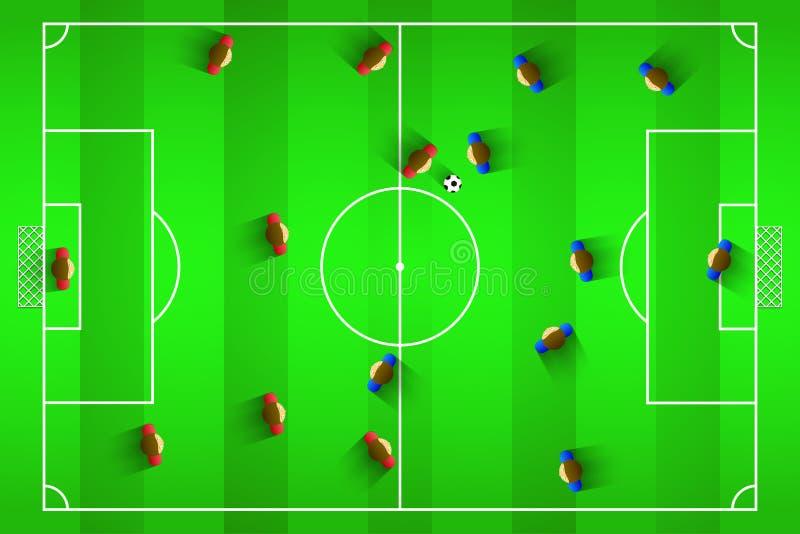 Illustrazione di vettore di calcio illustrazione vettoriale