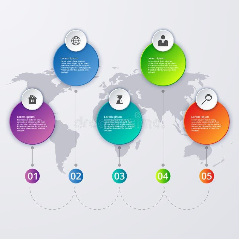 Download Illustrazione Di Vettore Di Un Infographics Di Cronologia Illustrazione Vettoriale - Illustrazione di disposizione, opzione: 56891273