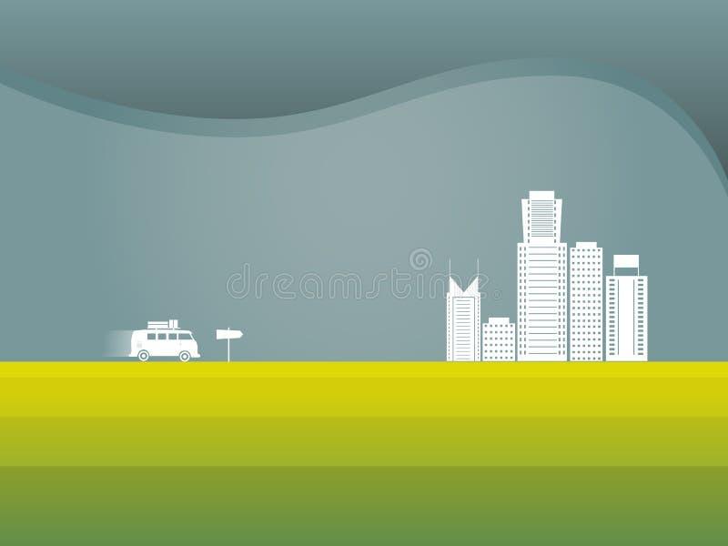 Download Illustrazione Di Vettore Di Viaggio Stradale Illustrazione Vettoriale - Illustrazione di giro, disegno: 56884876