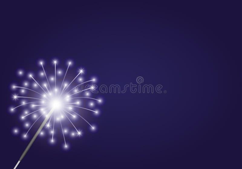 Illustrazione di vettore firework royalty illustrazione gratis
