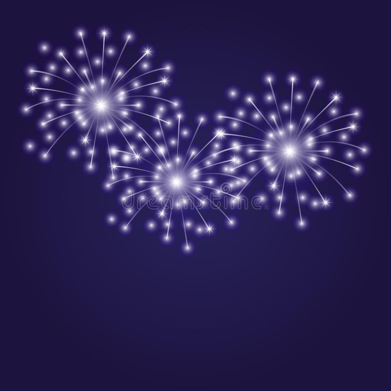 Illustrazione di vettore firework illustrazione vettoriale