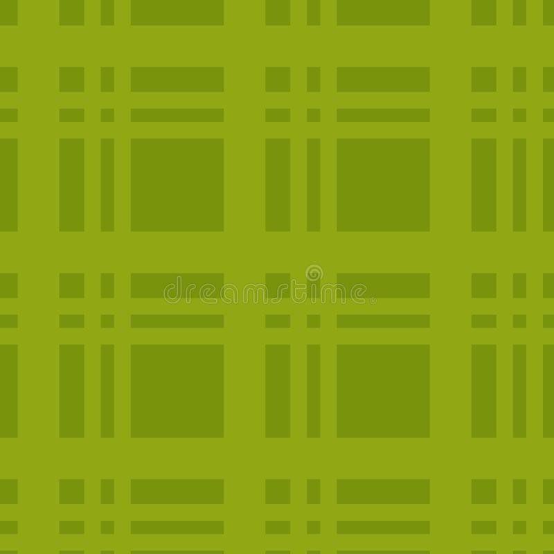 Illustrazione di vettore Fondo della gabbia Lavoro verde del controllore per il manifesto illustrazione di stock