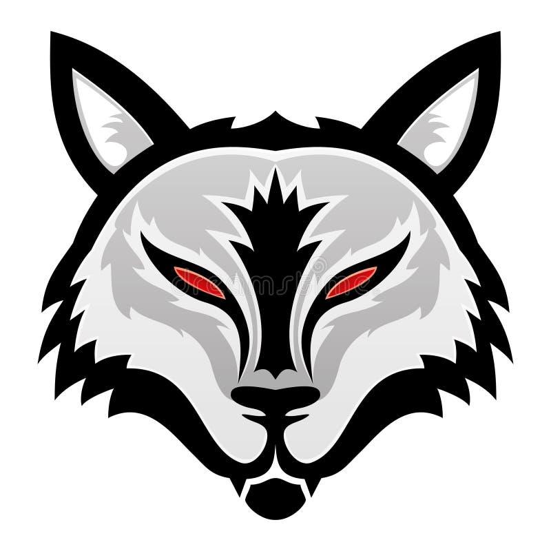 Illustrazione di vettore lupo royalty illustrazione gratis