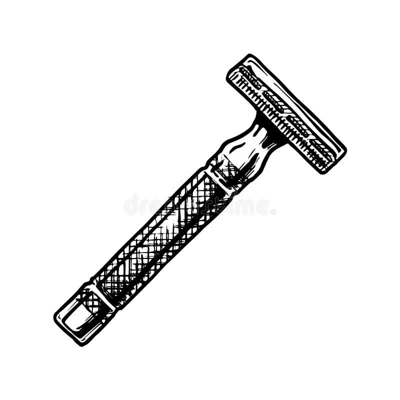 Illustrazione di vettore di rasatura degli accessori royalty illustrazione gratis