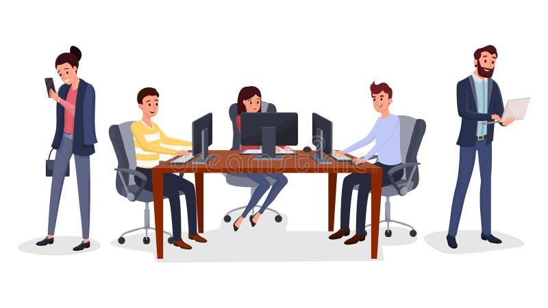 Illustrazione di vettore di sviluppo della multipiattaforma illustrazione di stock